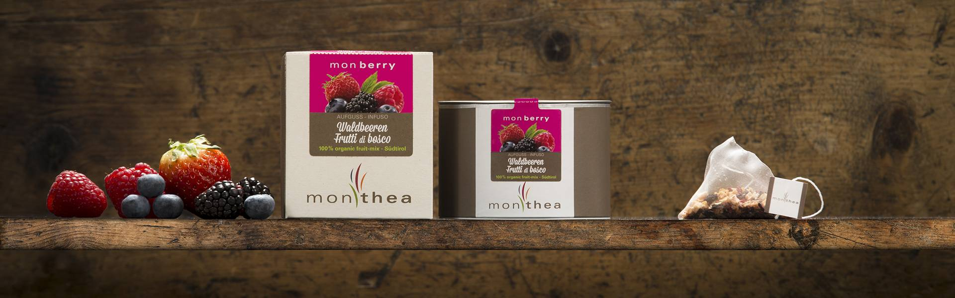 Organic wildberries tea monberry