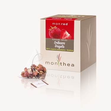 Picture of Organic strawberries tea monred