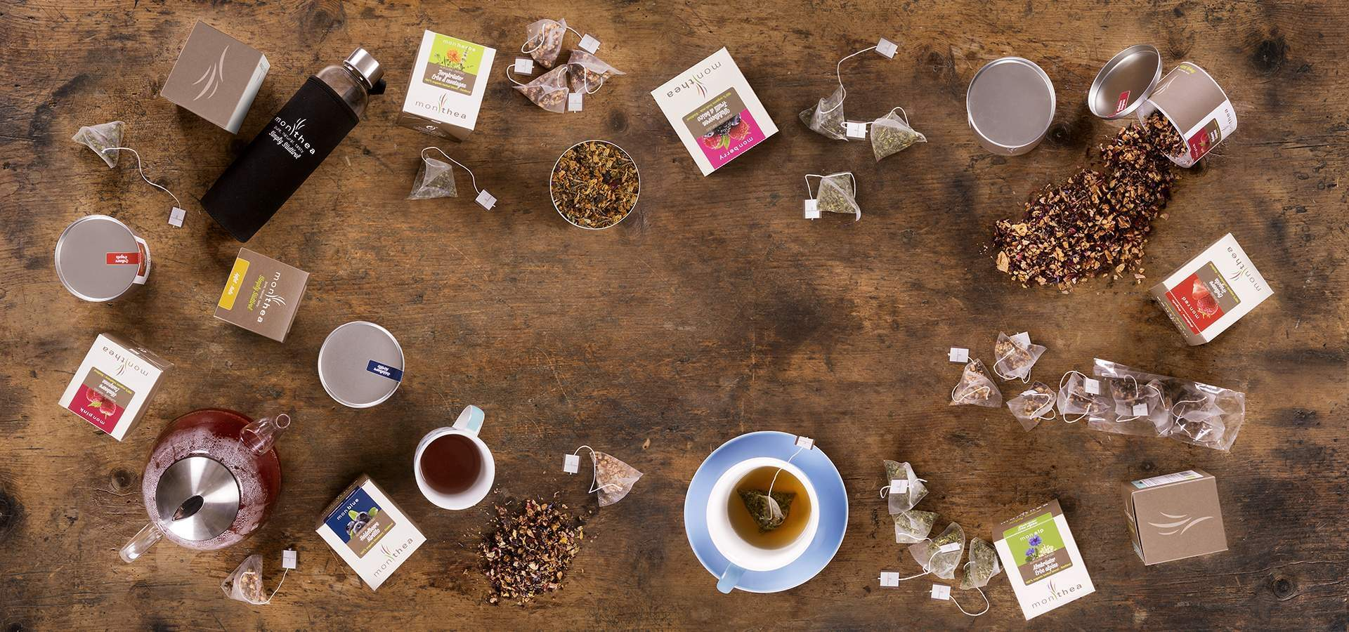 Monthea: Biological Tea of organic and locally grown fruit and herbs from South Tyrol